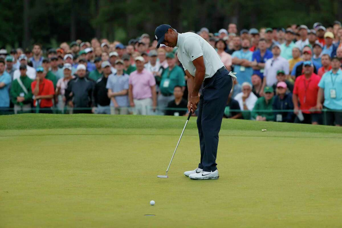 Five-way tie at Masters, but Tiger is lurking