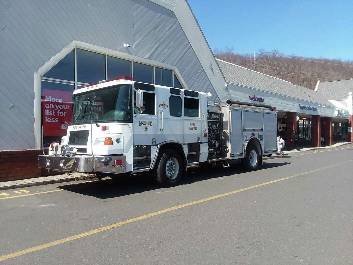 New Haven Fire Department engine.