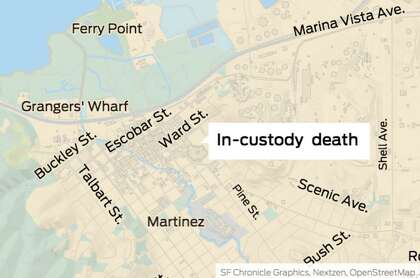 Woman dies in the intake area of Martinez Detention Facility