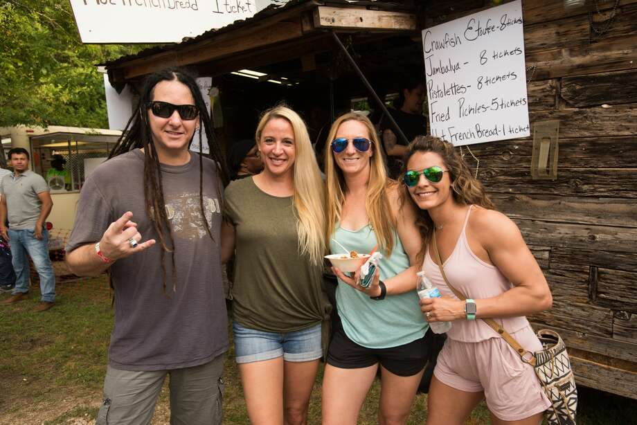 Fiesta fans started a three day fest, Taste of New Orleans, on Friday, April 12, 2019, with the tastes and sounds of 'Nawlins at the Sunken Garden Theatre. Photo: Aiessa Ammeter For MySA.com
