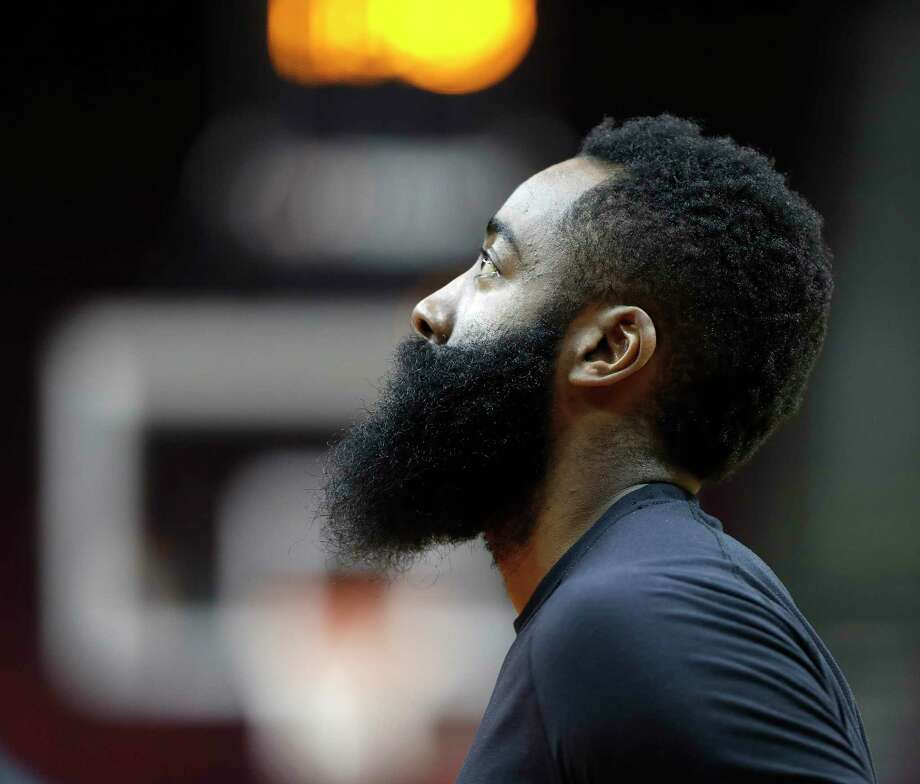 James Harden Vs Jazz: Rockets' James Harden Says Large Wrap On Left Hand Is