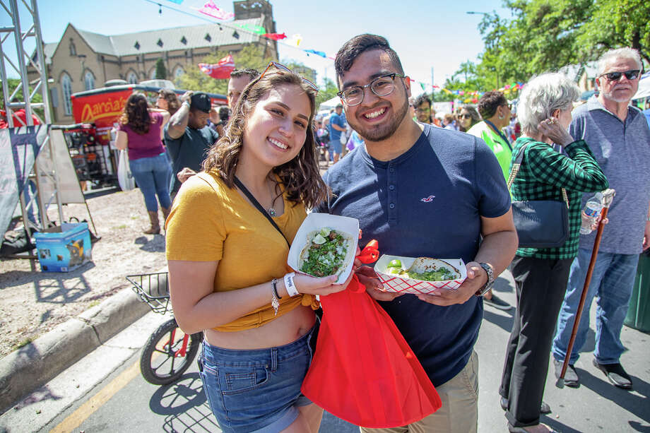 "The ""greatest offering of San Antonio ever assembled"" were featured on Saturday, April 13, 2019, at Taco Fest. Photo: Joel Pena For MySA.com"