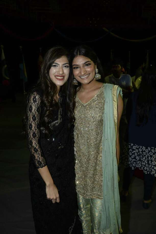 Rada Ashrafi and Hina Sultan at Lamar University's International Cultural Festival at the Montagne Center Saturday afternoon. Photo taken on Saturday, 04/13/19. Ryan Welch/The Enterprise Photo: Ryan Welch, Beuamont Enterprise / The Enterprise / © 2019 Beaumont Enterprise