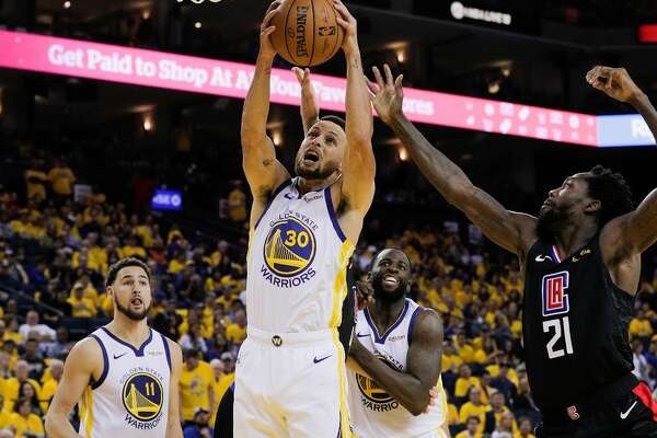 fedf221af90 Curry s 38 points lead Warriors to Game 1 win over Clippers ...