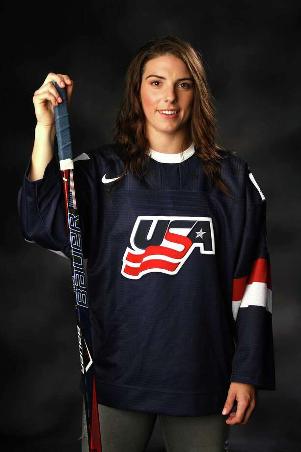 PARK CITY, UT - SEPTEMBER 26:  Ice Hockey player Hilary Knight poses for a portrait during the Team USA Media Summit ahead of the PyeongChang 2018 Olympic Winter Games on September 26, 2017 in Park City, Utah.  (Photo by Ezra Shaw/Getty Images) ORG XMIT: 700007615 Photo: Ezra Shaw / 2017 Getty Images