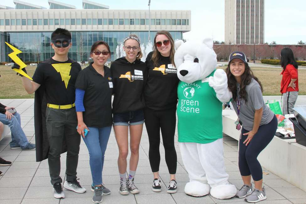Were you Seen at the University at Albany's 7th annual Family Earth Day on Saturday, April 13, 2019?