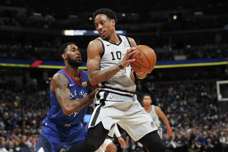 Click through to see where the Spurs roster stands so far going into the 2019-20 season >>> DeMar DeRozan, F/GAge: 29Contract status: Two years, $55.5 millionOutlook: After helping the Spurs salvage the Kawhi Leonard trade, DeRozan likely will be back for a second season in silver and black. However, he is eligible for a contract extension this summer, has a player option next summer, and could be a trade piece if the Spurs aim to clear up a crowded backcourt. Photo: David Zalubowski /Associated Press / Copyright 2019 The Associated Press. All rights reserved.