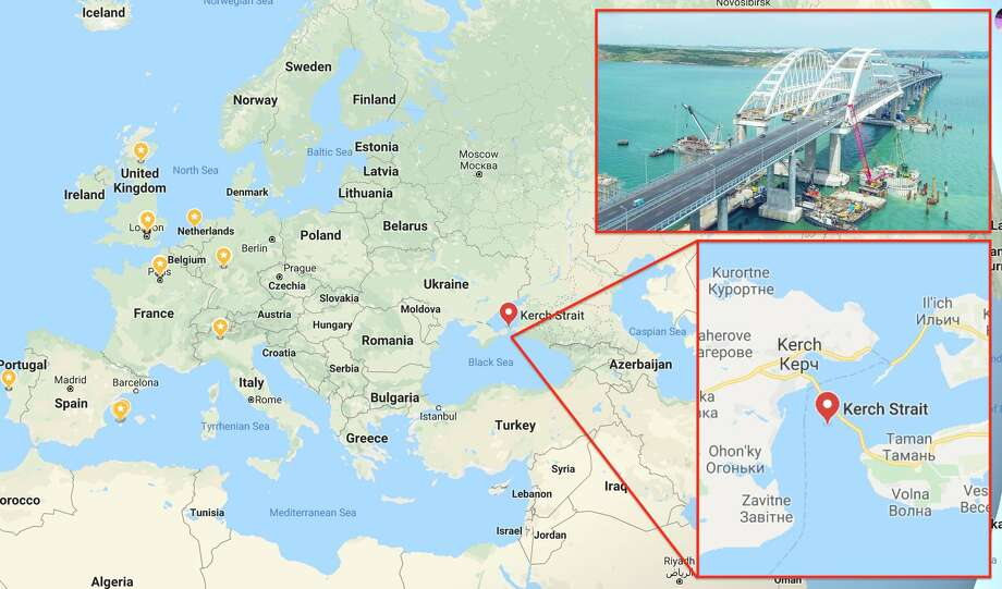The Russians are hacking the global navigation satellite system (GNSS) on a mass scale in order to confuse thousands of ships and airplanes about where they are, according to a study by Centre for Advanced Defense (C4AD). Photo: Google Maps / VMorozoff - Wikimapia, CC