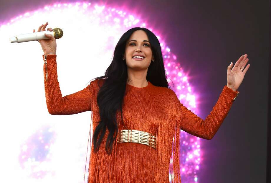 Several Texas-born celebrities were spotted at Coachella weekend 1. Texas-born country music queen Kacey Musgraves asked for call-and-response during her set at Coachella. (Photo by Kevin Winter/Getty Images for Coachella)>>> See more Texas and other celebrities at Coachella ... Photo: Kevin Winter/Getty Images For Coachella