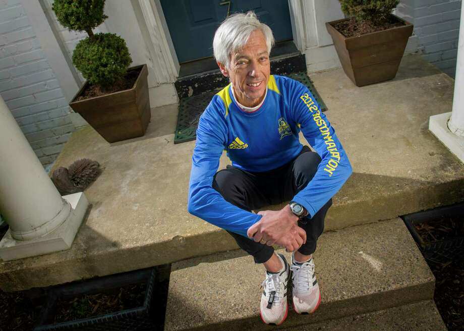 Ben Beach of Bethesda, Maryland, holds the record for consecutive Boston Marathon finishes at 51 and will look to add a 52nd on Monday. Photo: Photo For The Washington Post By Doug Kapustin / Doug Kapustin
