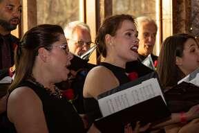 "Were you seen at Albany Pro Musica's ""Piano Bar"" Gala honoring Karen Hitchcock at Pat's Barn on April 13, 2019"