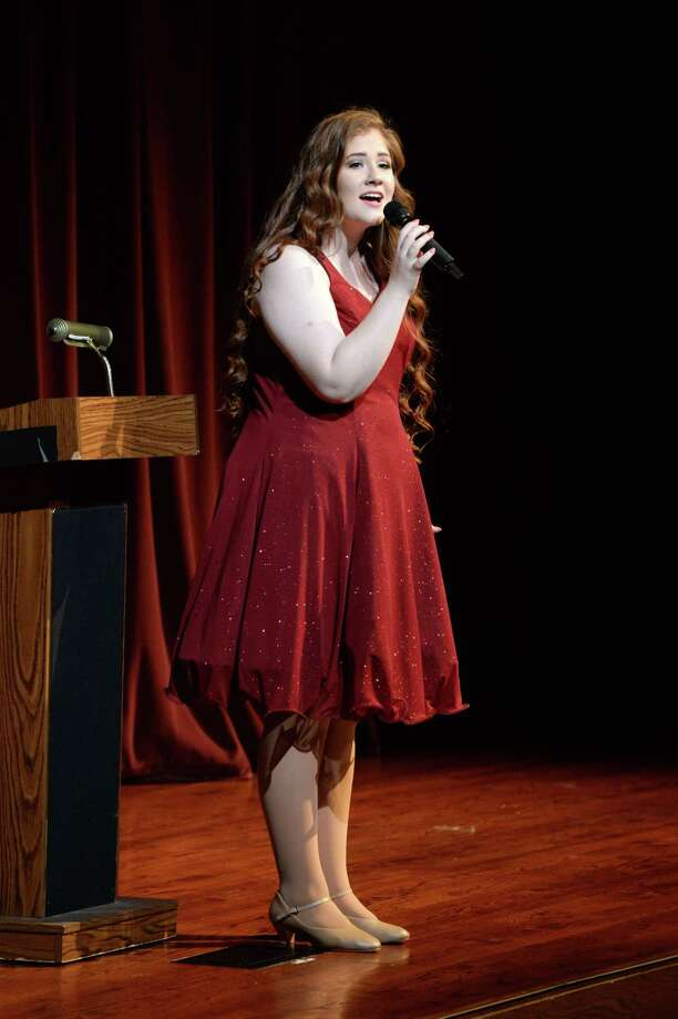 Senior Chailey Bettis performs during the 20th Anniversary celebration at Cinco Ranch High School, Katy, TX on Sunday, April 14, 2019. Photo: Craig Moseley, Staff Photographer / ©2019 Houston Chronicle