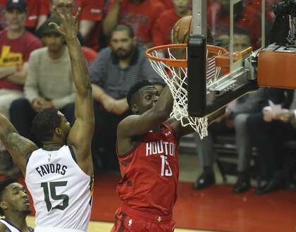 503be1085b6 Clint Capela and the Rockets have had their way with the Jazz through two  games, but ESPN's Dave Pasch said he expected a change when the series  shifts to ...