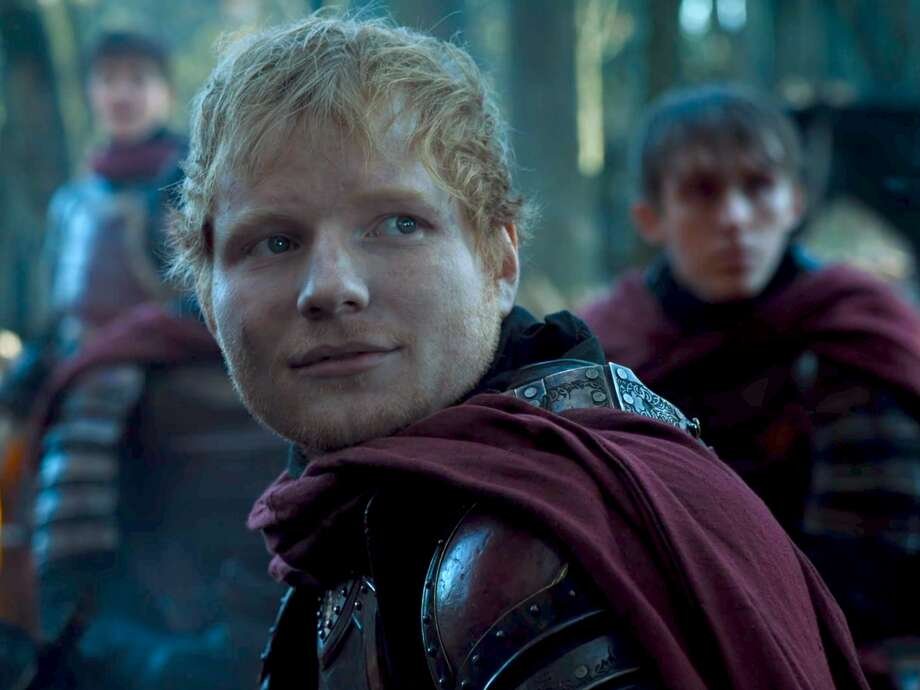 "FILE - Ed Sheeran portrays Eddie, a Lannister soldier in ""Game of Thrones"" season 7. The premiere reveals the fate of Ed Sheeran's character in the season eight premiere. Photo: Rolling Stone"