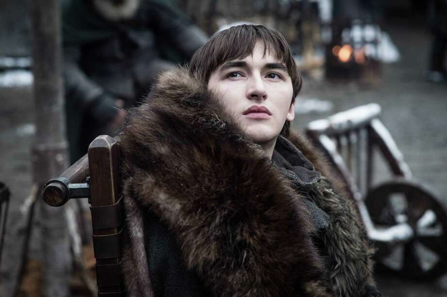 "saac Hempstead Wright in Season 8 of HBO's ""Game of Thrones."" Photo: Helen Sloan/HBO. / The Washington Post"