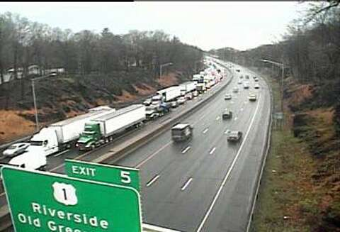 Overturned tractor-trailer closes I-95 north for 8 hours