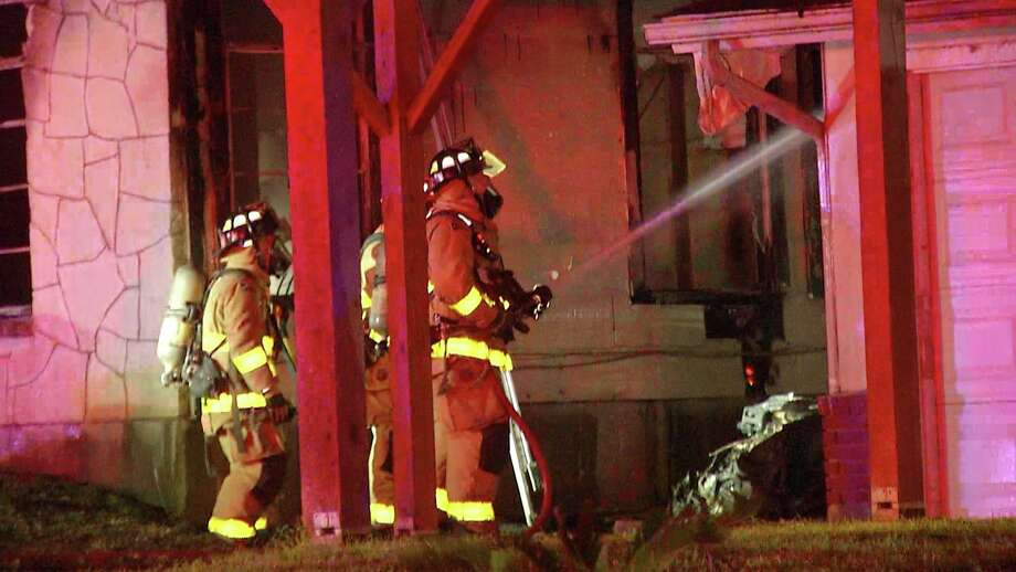 A woman in her late 60s suffered burns on over 90% of her body after a fire broke out in her home in the 600 block of Dawnview, according to the San Antonio Fire Department. Photo: Ken Branca