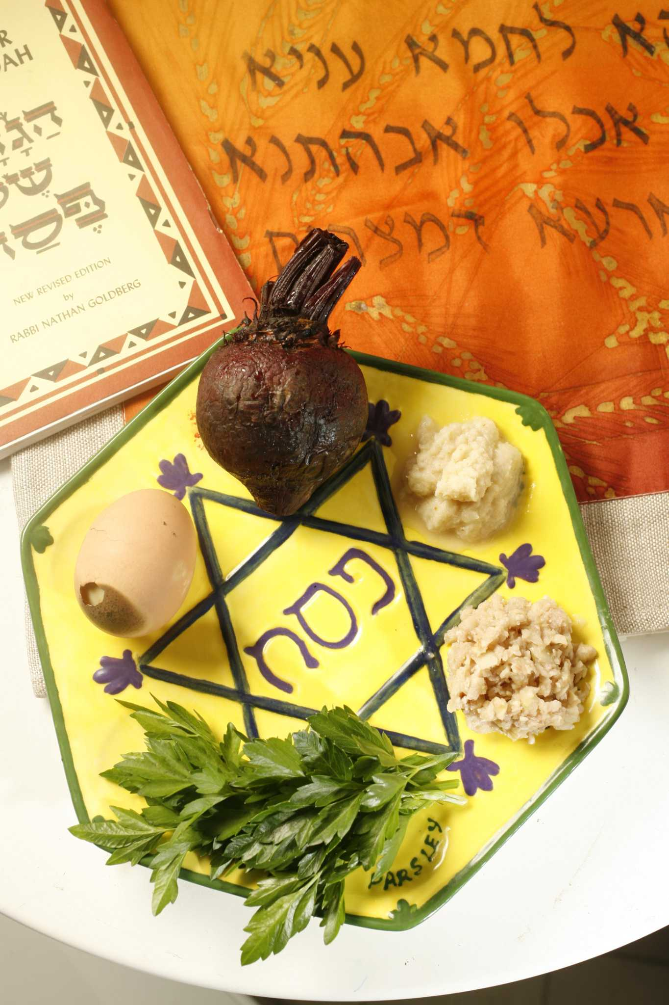 Recipes for vegetarians abound for Passover Seder meals
