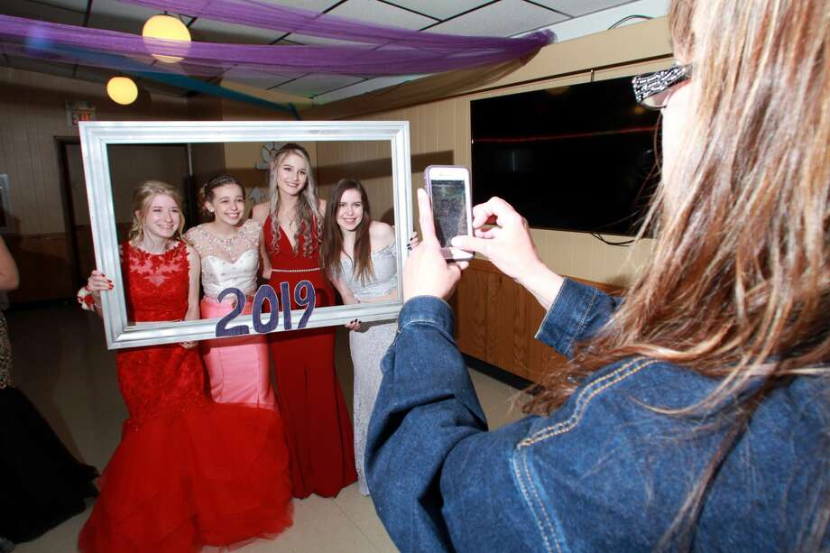Caseville students went all out Saturday night for their prom celebration. The night featured dinner, pictures, dancing and making a few final memories before graduation. Photo: Massive Meme, Coulter Mitchell/For The Tribune