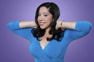"""Bronx native Gina Brillon is one of for stand-up comedians who will be taping an episode of HBO Latino's """"Entre Nos"""" in San Antonio."""