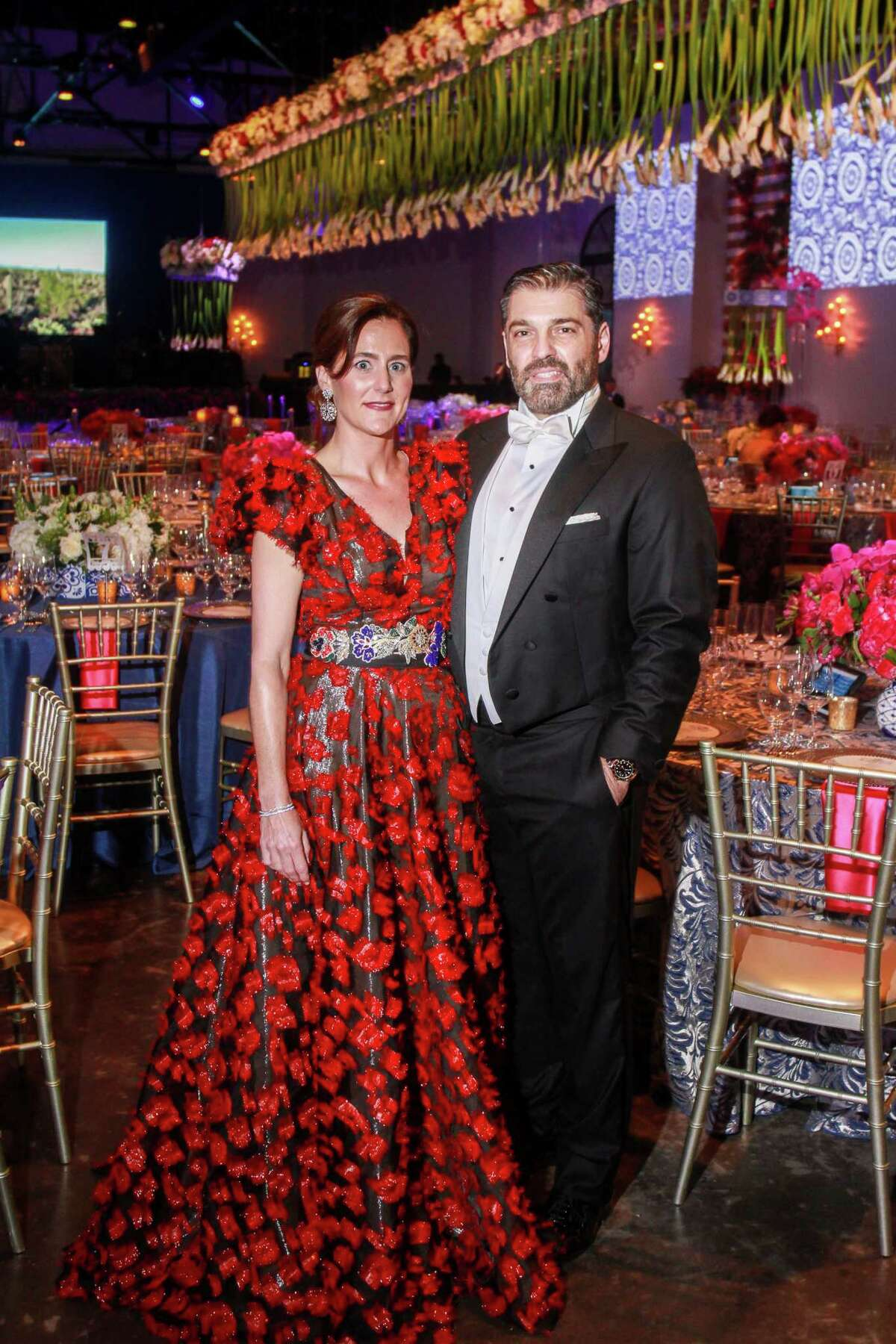 Chairs Marcia and Alfredo Vilas at the Opera Ball.