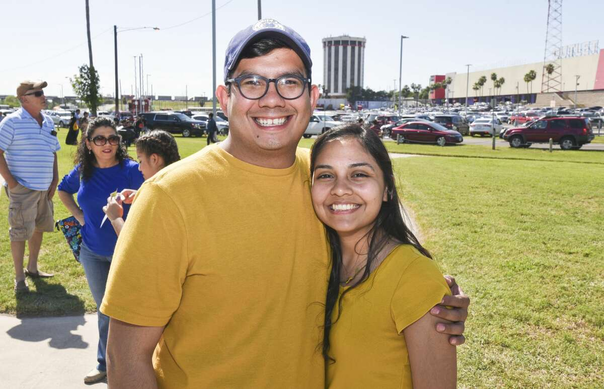 Laredoans show up for the Pachanga at the Park on Saturday, Apr. 13, 2019, during the Day of Action featuring world famous cellist Yo-Yo Ma at Tres Laredos Park in Laredo, TX.