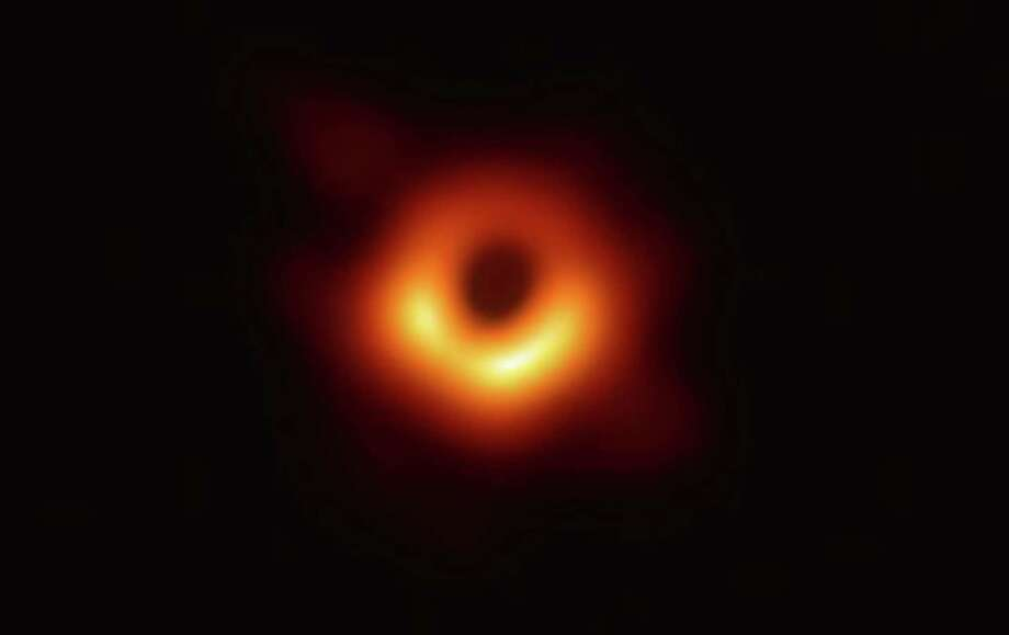 Scientists have captured the first direct image of a supermassive black hole. The cosmic portrait belongs to the black hole at the center of Messier 87, the largest galaxy we know of, about 54 million light-years away. Photo: Event Horizon Telescope Collaboration Et Al. / Event Horizon Telescope collaboration et al.