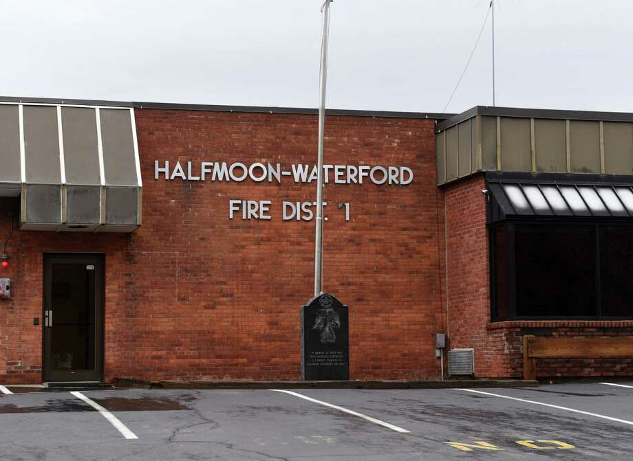 Exterior of the Halfmoon-Waterford fire station on Monday, April 15, 2019, in Waterford, N.Y. (Will Waldron/Times Union) Photo: Will Waldron, Albany Times Union / 20046682A