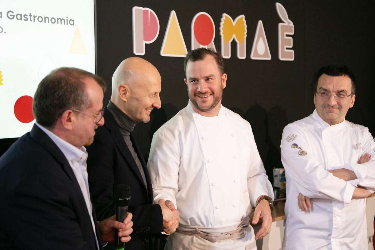 Pieter Sypesteyn, owner of Cookhouse, NOLA Brunch & Beignets and Bud's Southern Rotisserie, earned the title of International Chef of UNESCO Creative Cities following a winning performance at a cooking competition held in Parma, Italy on April 11.