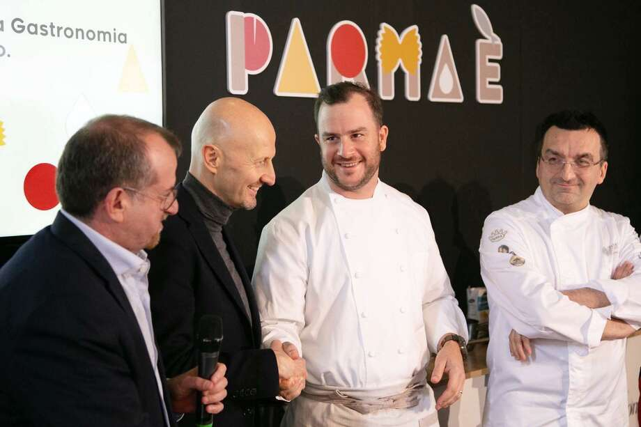 Pieter Sypesteyn, owner of Cookhouse, NOLA Brunch & Beignets and Bud's Southern Rotisserie, earned the title of International Chef of UNESCO Creative Cities following a winning performance at a cooking competition held in Parma, Italy on April 11. Photo: Pieter Sypesteyn