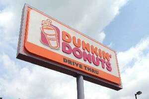 The Dunkin'Donuts on Main Street in downtown Danbury.