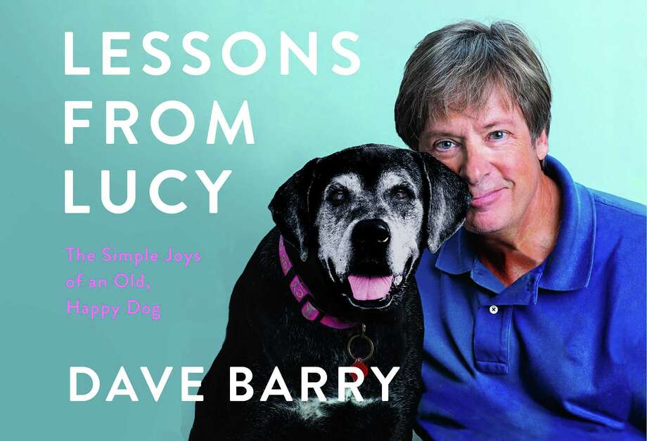 The cover of Dave Barry's new book features him with his dog Lucy. Photo: Jeffrey Salter For Simon And Schuster / Handout