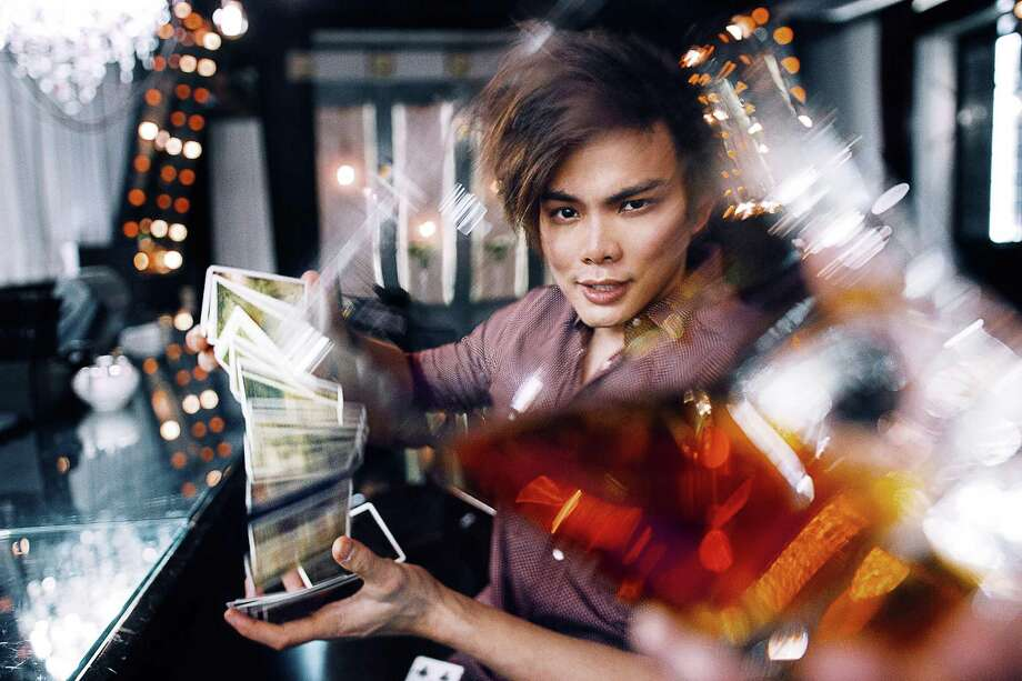 """Shin Lim, the sleight-of-hand artist who won """"America's Got Talent: The Champions"""" earlier this year, will perform at Foxwoods Grand Theater on Friday, April 26. Photo: Shin Lim / Contributed Photo"""