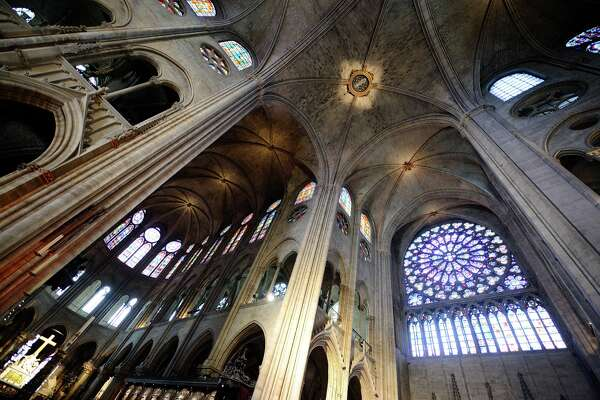 Notre Dame de Paris. The Catholic cathedral Notre Dame de Paris, on the edges of the Seine on September 20, 2015 in Paris.