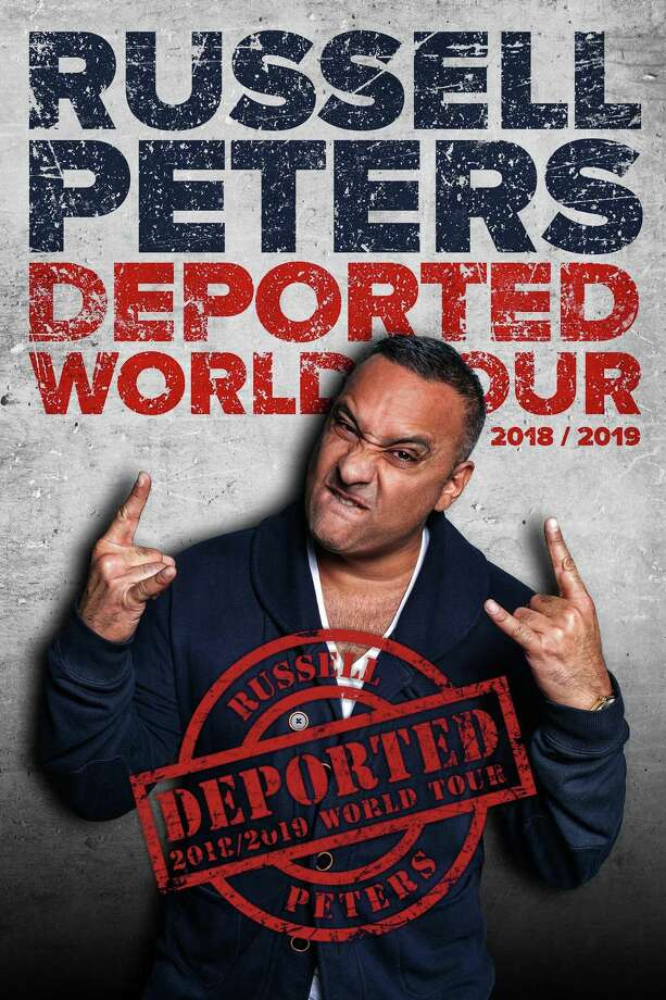 Tickets go on sale April 19 at 10 a.m. for comedian Russell Peters at Bridgeport's Webster Bank Arena Aug. 10. Photo: Mohegan Sun / Contributed Photo
