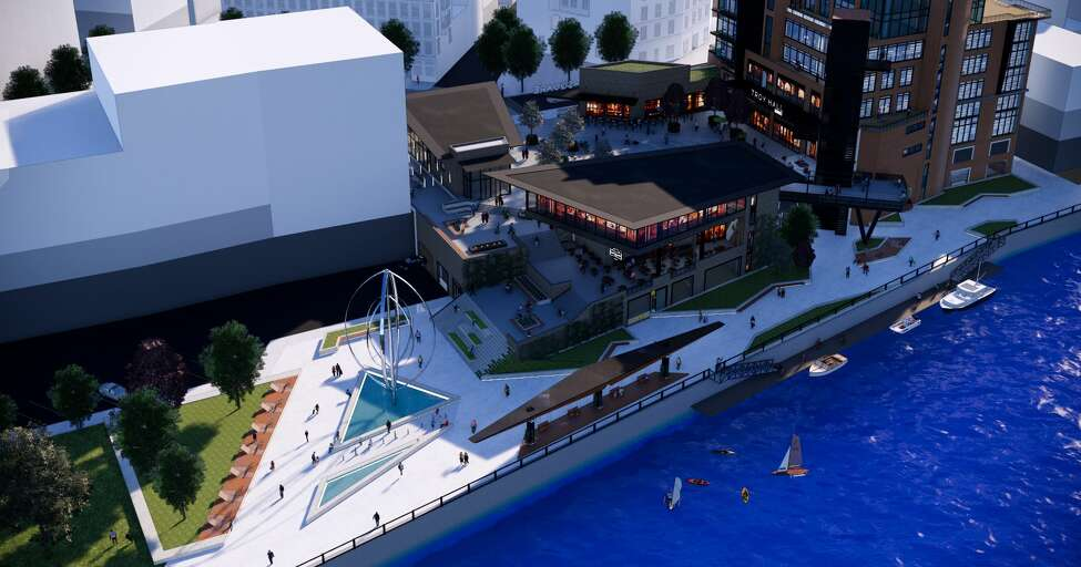 Details of the 2019 plans for the redevelopment of 1 Monument Square in Troy.