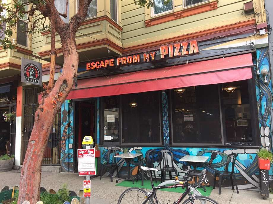 Two Escape From New York Pizza locations are closing. Pictured here is the Mission location. Photo: Yelp / Andrew D.