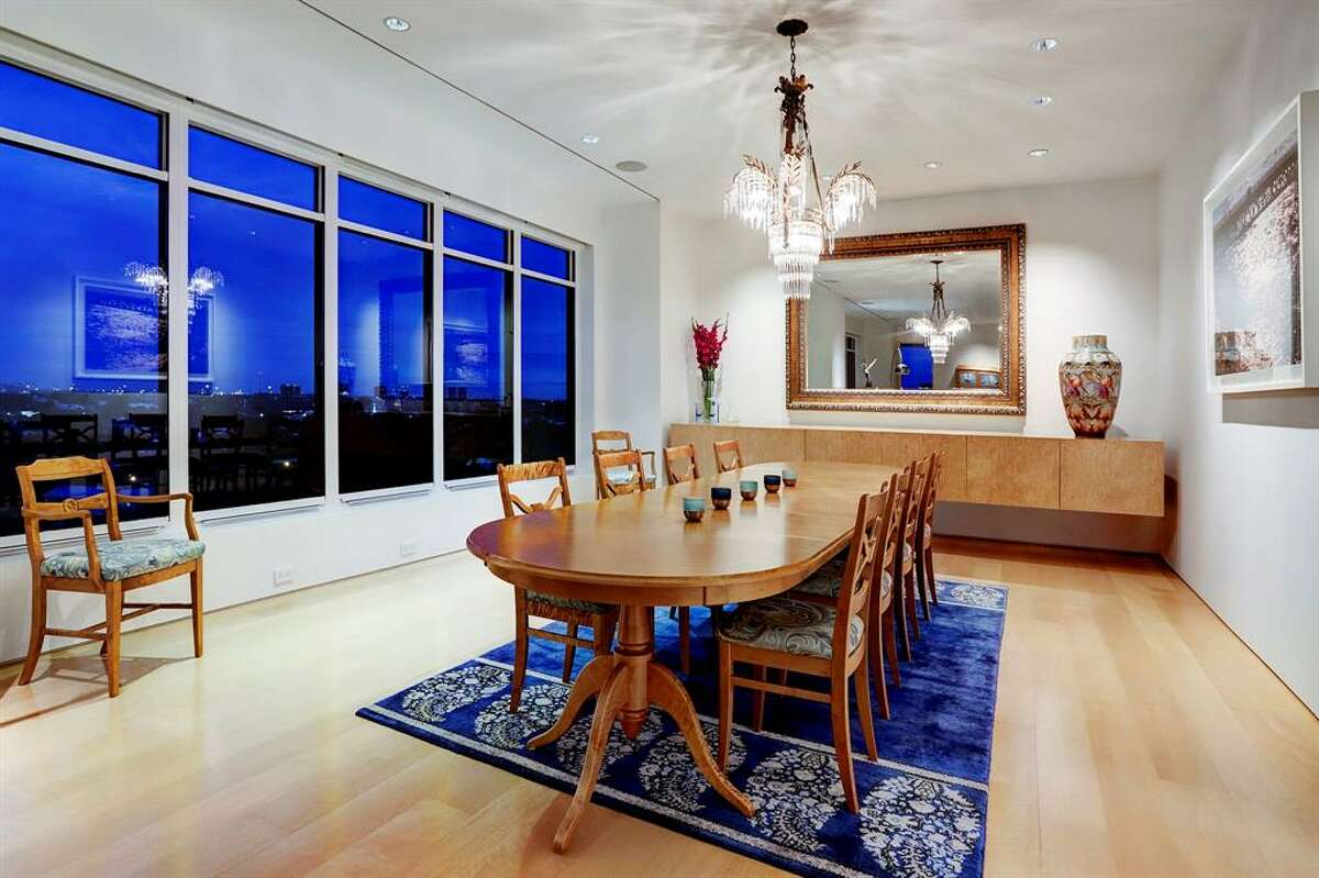 2121 Kirby Drive 6NE, Houston$3.3 million,4,522 square feetAmenities: Terrace with views of downtown, media room, built-in espresso coffee system, wine nook, audio system, electric shades throughout.