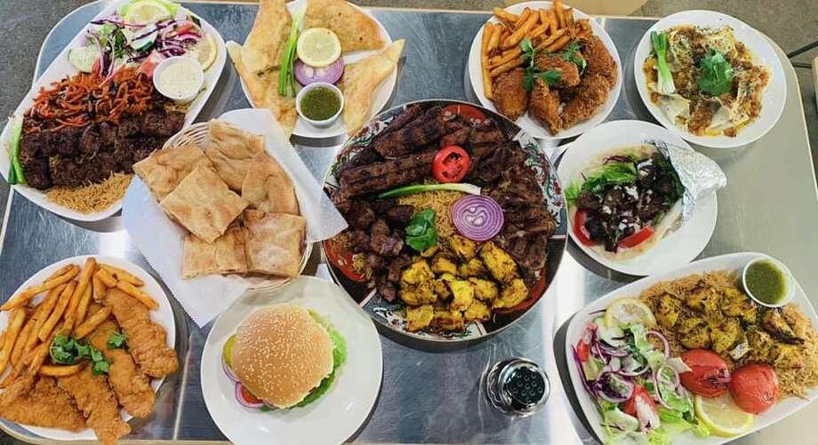 Food on display at Halal Grub in Colonie, N.Y. Photo: Halal Grub's Facebook Page