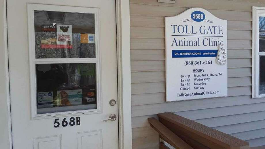 Jennifer Stepp Coons, the co-owner of Tollgate Hill Veterinary Clinic in Litchfield, said in a lengthy post on Facebook that she won't be able to reopen the facility, which closed abruptly in March. Photo: Emily M. Olson / Hearst Connecticut Media /