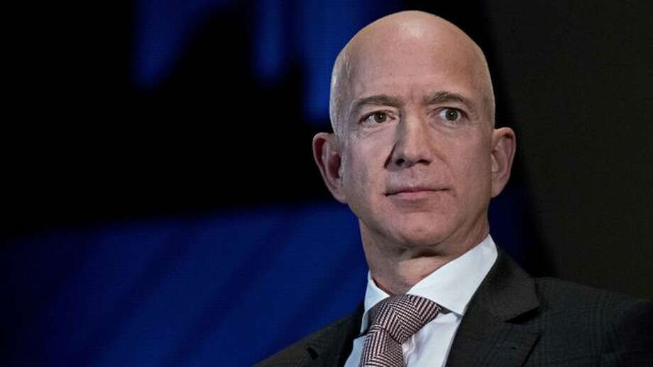 Jeff Bezos is so rich that ....  Photo: Andrew Harrer/Bloomberg Via Getty Images