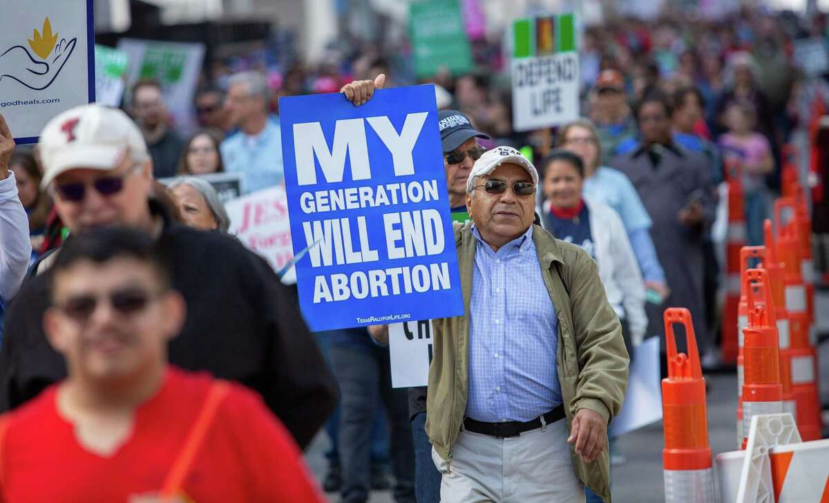 Marco Lone, who has participated in the every rally, drove in from Ranch, Texas to join the Texas Rally for Life at the Texas State Capitol on January 26 in Austin, Texas. Taking abortion rights from women will lead to dangerous, illegal abortion practices.