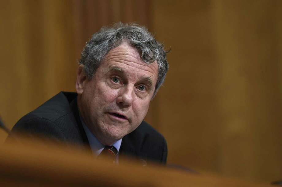 Sen. Sherrod Brown, D-Ohio, is among the senators who offer a tax blueprint that would boost incomes and jobs. Photo: Susan Walsh /Associated Press / Copyright 2019 The Associated Press. All rights reserved.