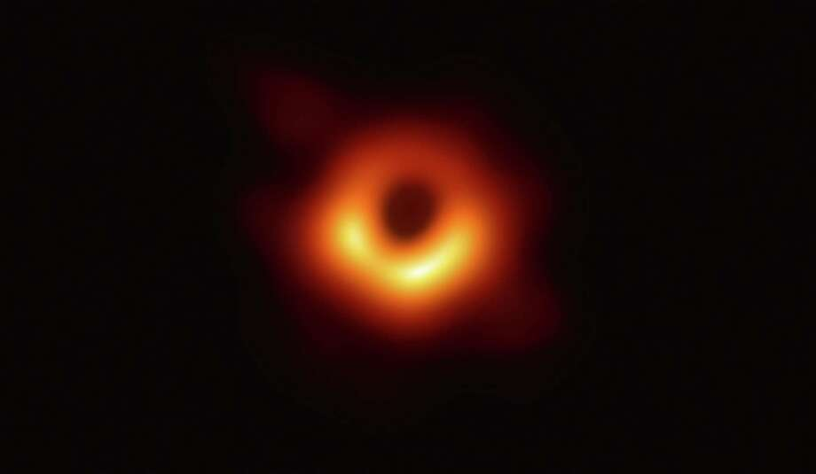 The only reasonable response to this snapshot of M87, a black hole: dumbstruck awe. Photo: National Science Foundation / 2019 National Science Foundation