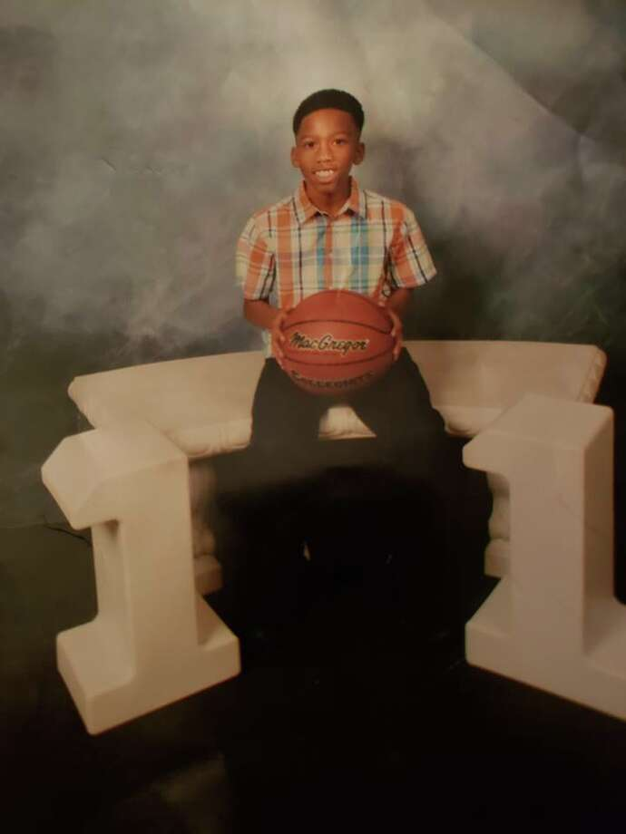 Jo'Anthony Harrison, 12, was killed last week in a crash in the 16200 block of Tomball Parkway. His mother said he was a devoted basketball player and James Harden fan. His dream was to play in the NBA, and he was recently looking forward to joining the school basketball team next year. Photo: Courtesy Of Latonya Harrison