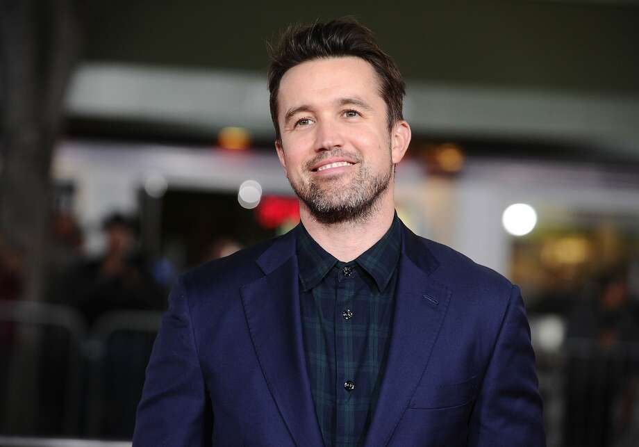 "Actor Rob McElhenney attends the premiere of ""Fist Fight"" at Regency Village Theatre on February 13, 2017 in Westwood, California. Photo: Jason LaVeris/FilmMagic"