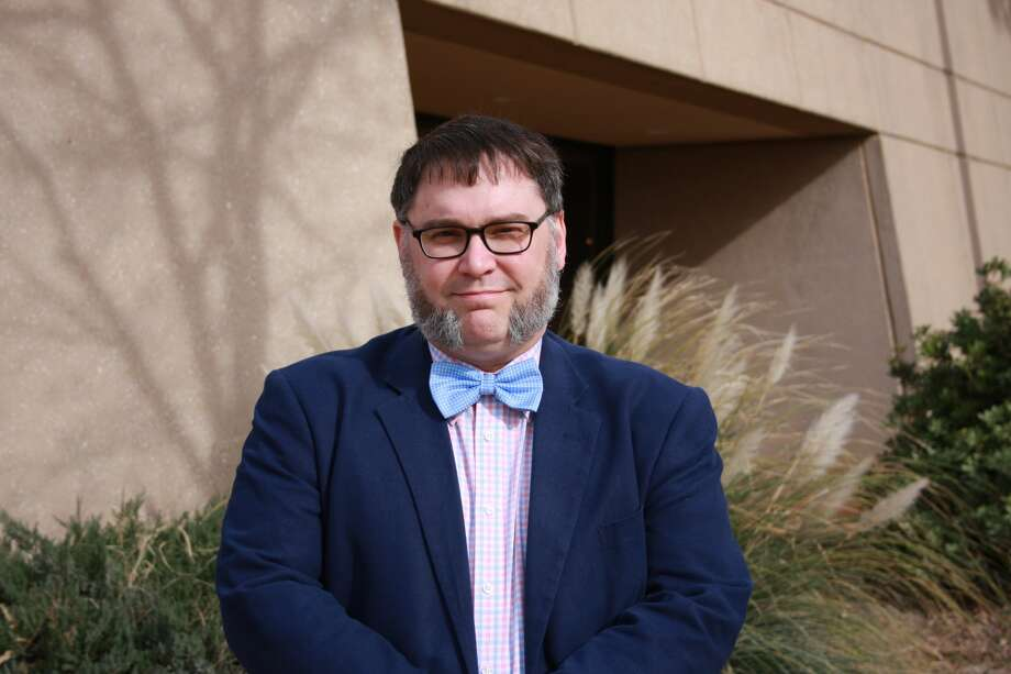 Midland College Prof. David Hopkins Jr., said students who attend class and pay attention usually do well in his courses. In return, he tries to make his lectures dynamic. Photo: Courtesy Photo