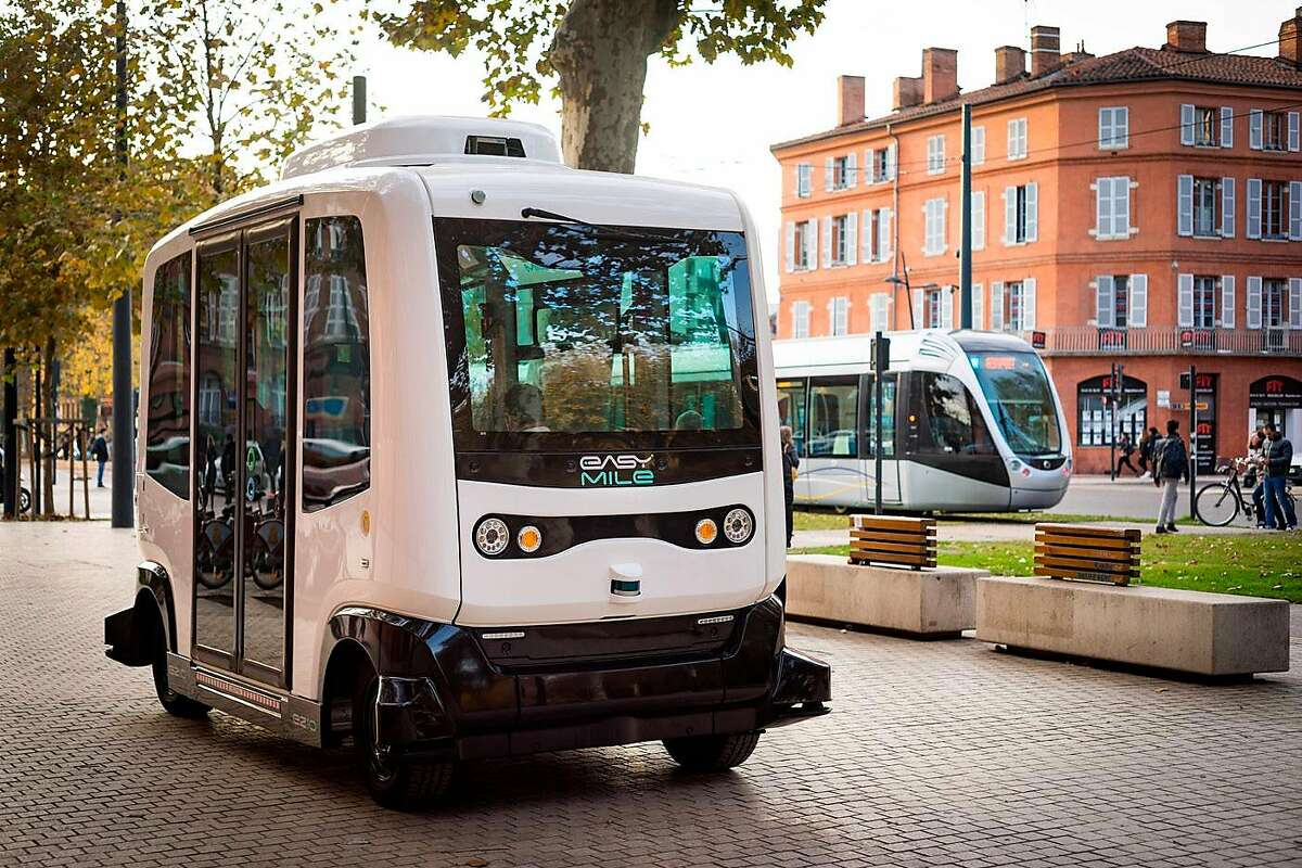 EasyMile was founded in 2014, The company says�it has deployed over 210 driverless projects with more than 320,000 people transported over 250,000 kilometers.