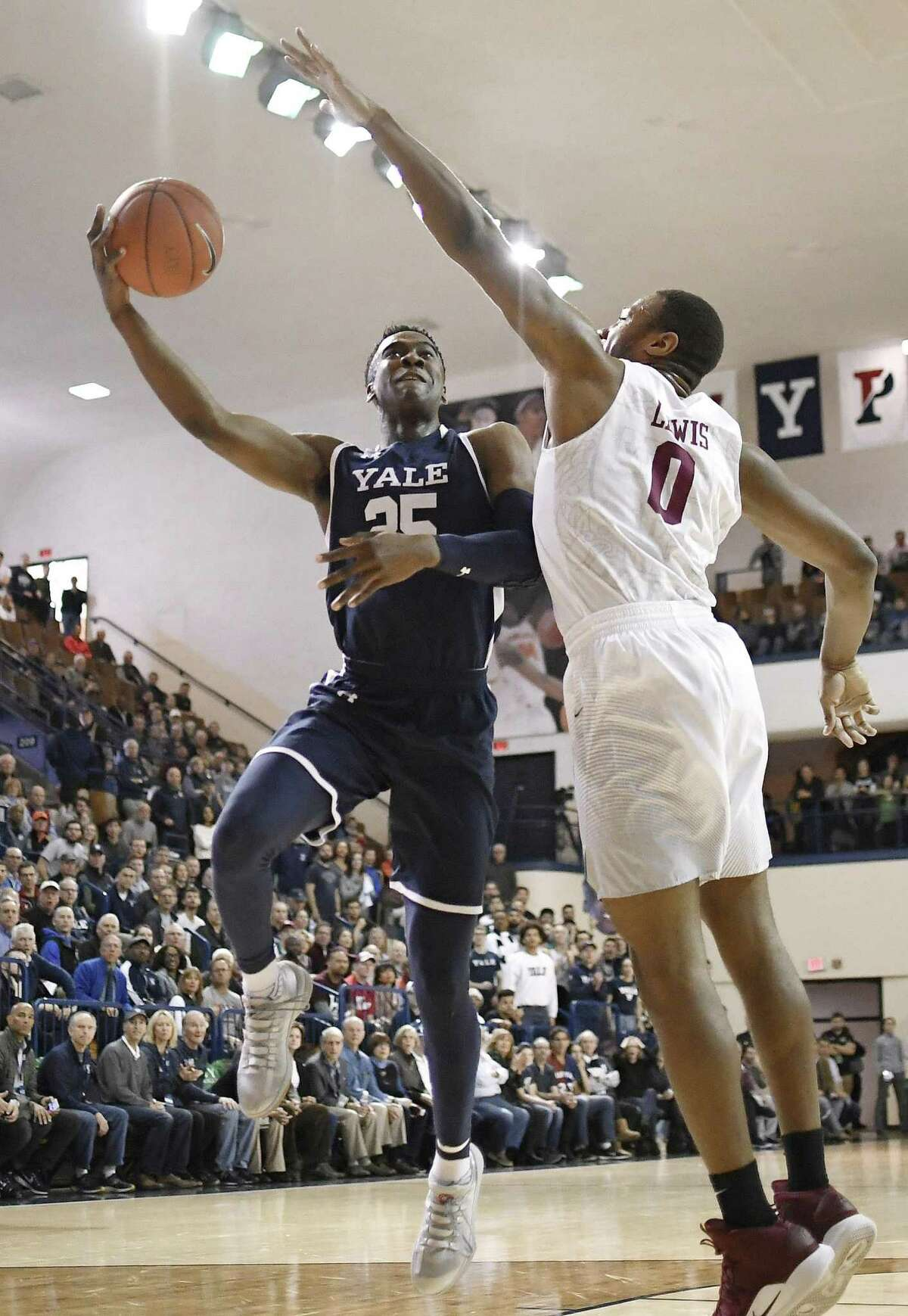 Yale junior Miye Oni has a good chance to be selected in the second round of the 2019 NBA Draft.