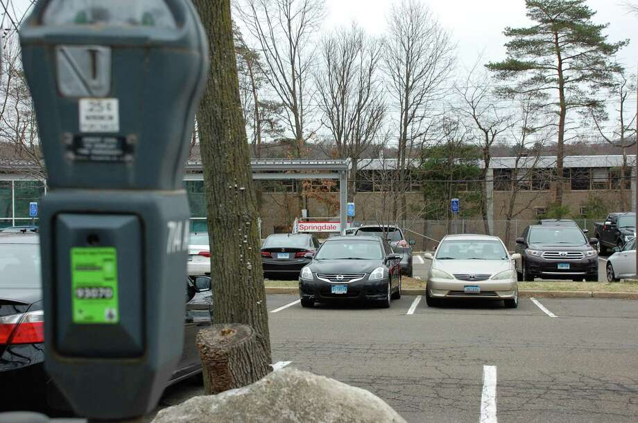 Members of the Board of Finance have approved only half of a $2 million state grant to improve the Springdale train station commuter parking lot because they are concerned that too much of the money is slated for administrative expenses instead of construction costs. Photo: Angela Carella / Contributed Photo / Stamford Advocate